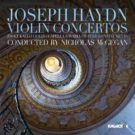 Haydn   Kallo   Capella Savaria   Violin Concertos  Cd