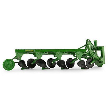 1/16 Scale 4-Bottom Plow Ertl #45529 - LP53311, John deere 1/16 scale 4 bottom plow. By John Deere