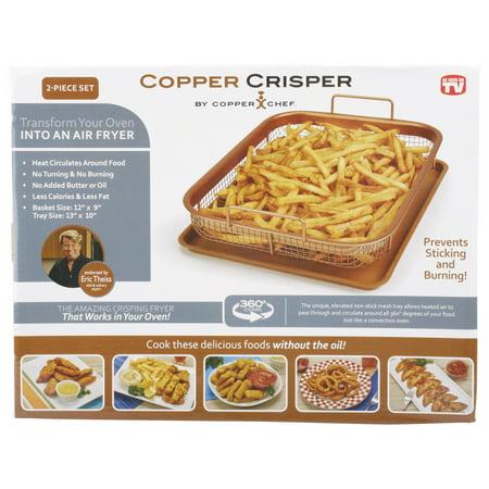 Copper Chef 2-Piece Copper Crisper Only $7.28
