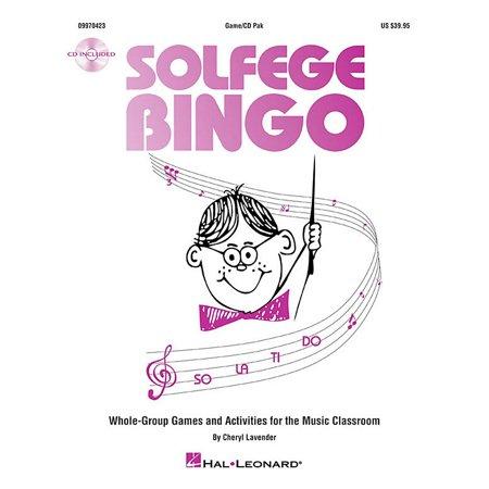 Hal Leonard Solfege Bingo - Whole-Group Games and Activities (Hal Leonard Composer Bingo Game)
