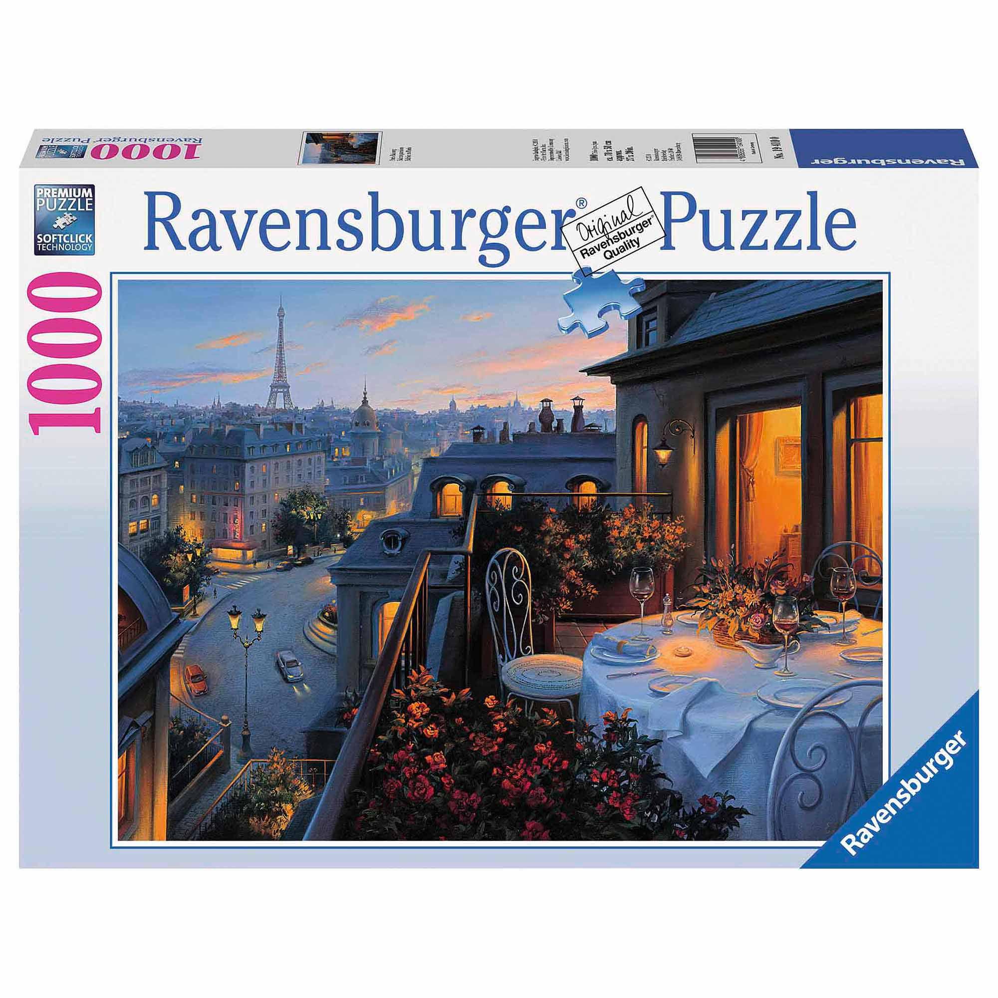 Paris Balcony Puzzle, 1,000 Pieces by Ravensburger