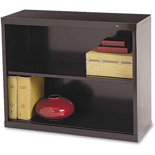 Tennsco 2-Shelf Metal Bookcase