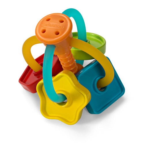 Infantino Topsy Turvy Easy-Grip Activity Rattle