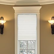 Bamboo roman shades for Marvin window shades cost