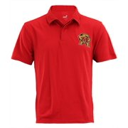 NCAA Men's Maryland Terrapins Short Sleeve Performance Polo Shirt