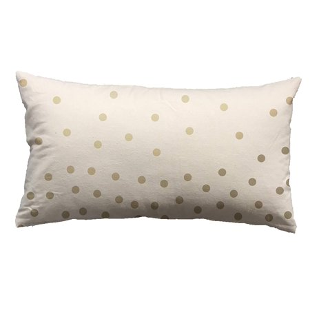 Westex Urban Loft Foil Small Dots Lumbar Pillow - Decorative Tins