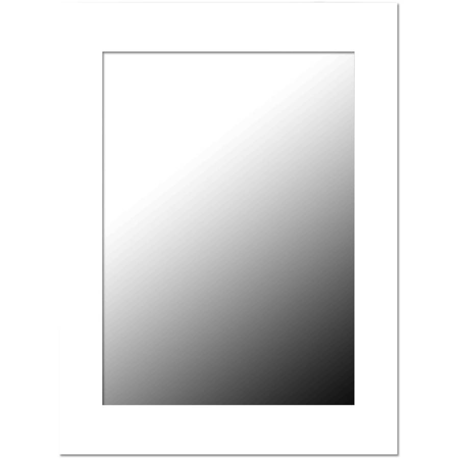Home Basics Wall Mirror, White by Generic
