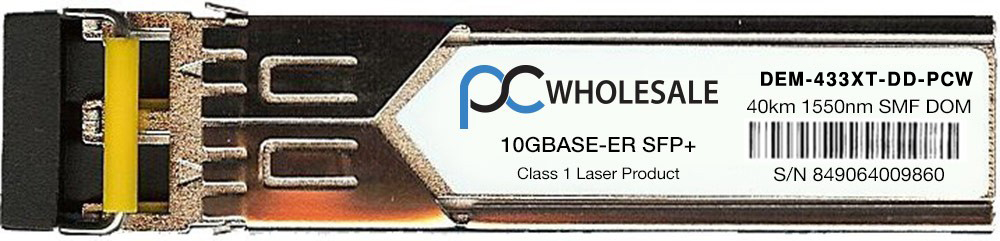 D-Link Compatible DEM-433XT-DD 10GBASE-ER 40km 1550nm SFP+ Transceiver by D-Link