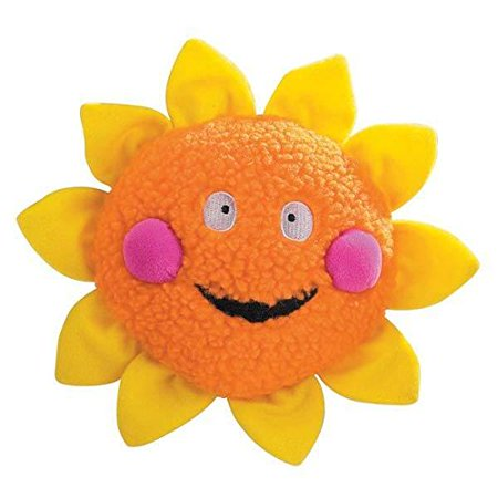 Smiling Sun (Smiling Colorful Celestial Dog Toys Berber Moon Star Sun Toy or Set of All)