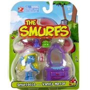 The Smurfs Articulated Smurfette Mini Figure [With Vanity Mirror]
