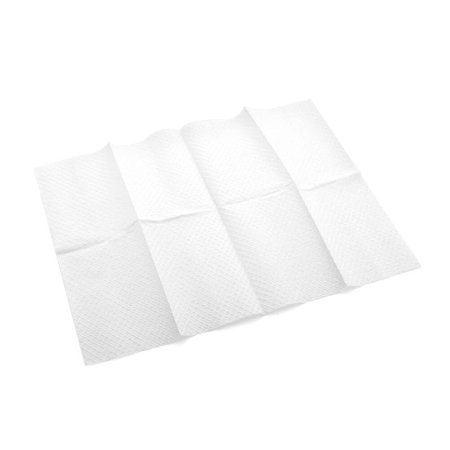 Multi-Purpose Towels, Diamond Embossed 3-Ply, Poly Tissue, 13 Inch x 18 Inch, White (Case of 500), Ideal for washing, wiping and draping when absorbency.., By MediChoice Ship from US