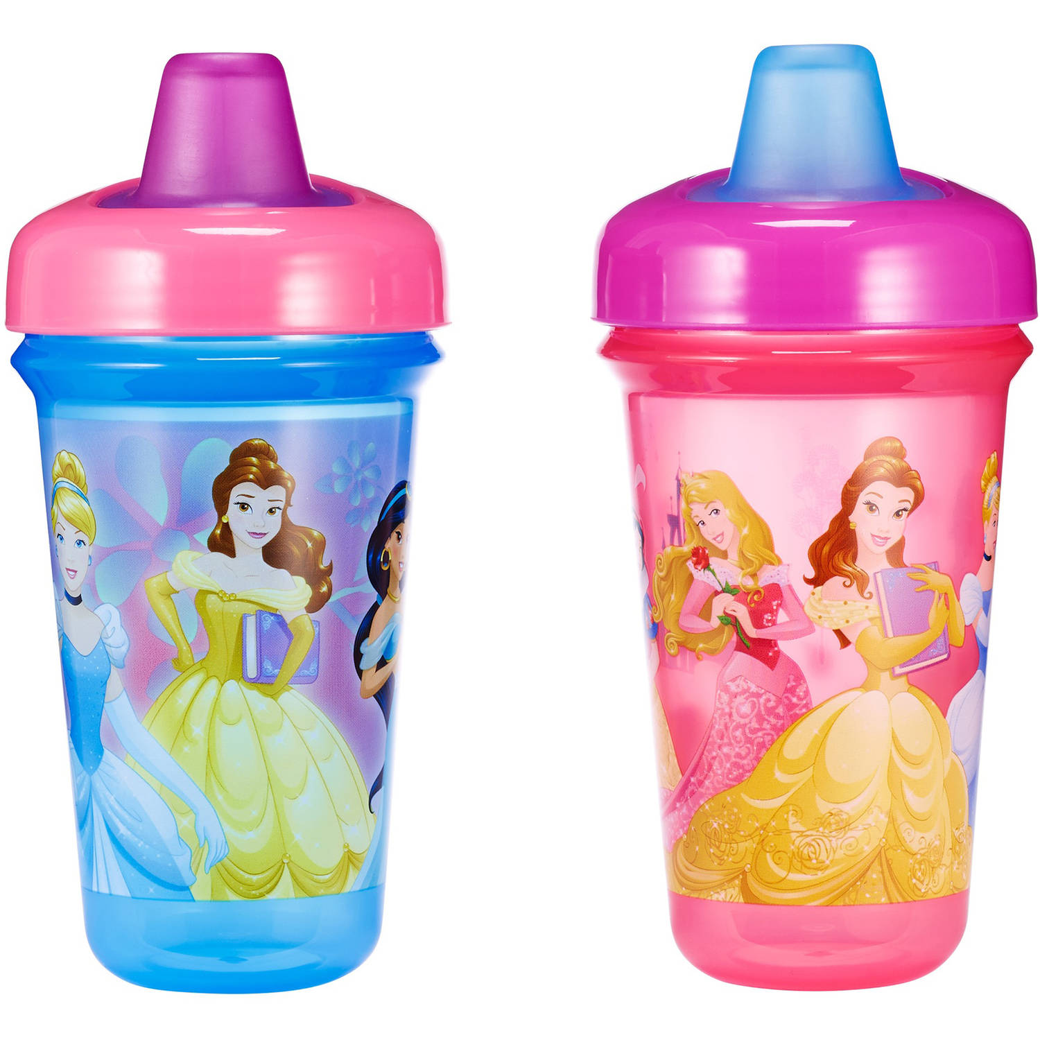 The First Years Disney Stackable Soft Spout Sippy Cup - Princess, 2 pack
