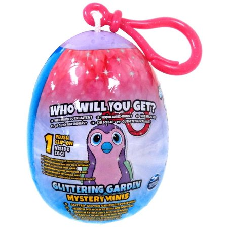 Mini Plush Clip-On Hatchimals Glittering Garden Mystery Pack ()