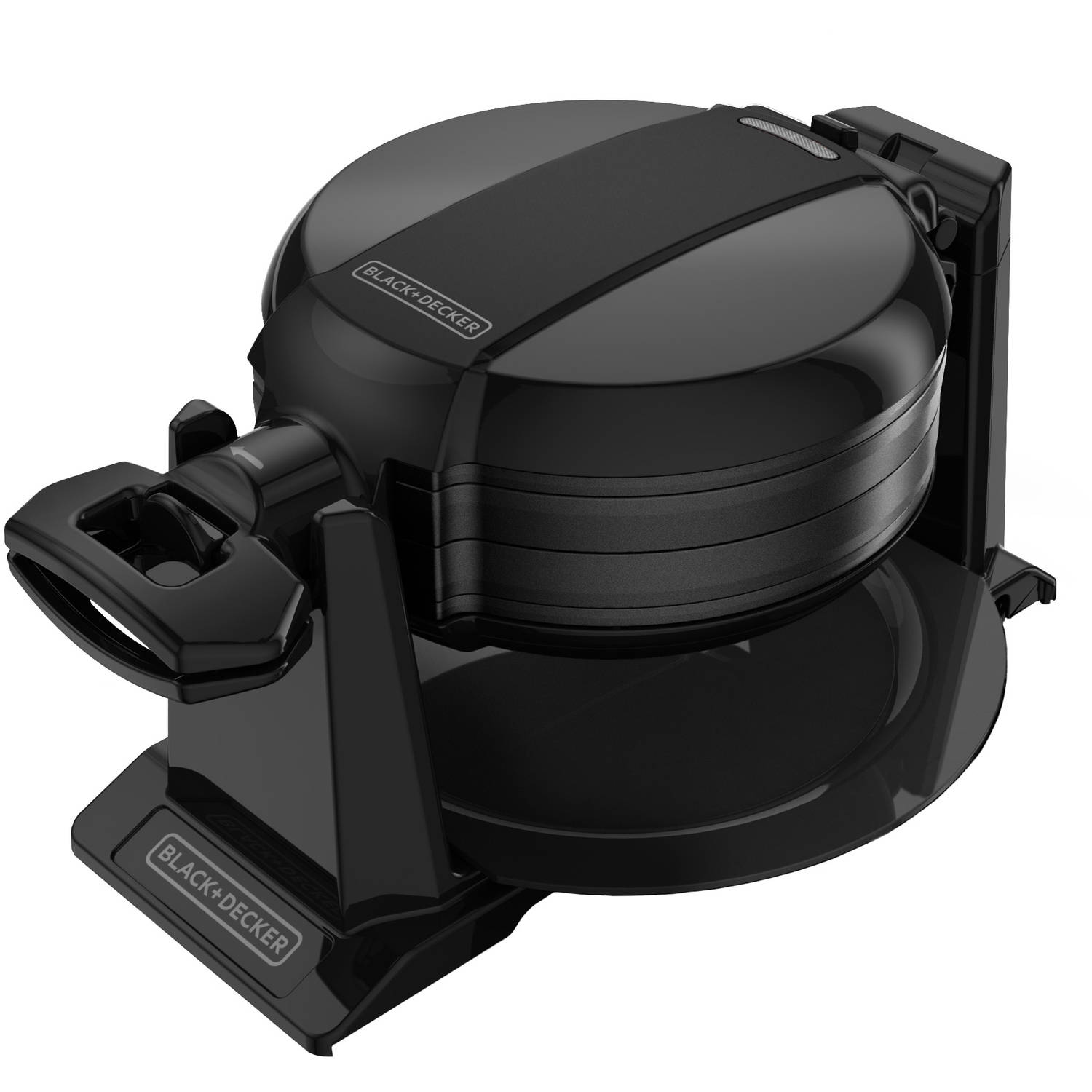 BLACK+DECKER Double Flip Waffle Maker, Non-Stick,  WMD200B