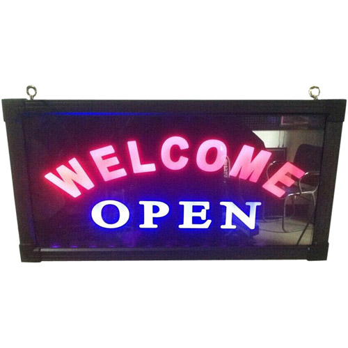 Welcome Open Sign
