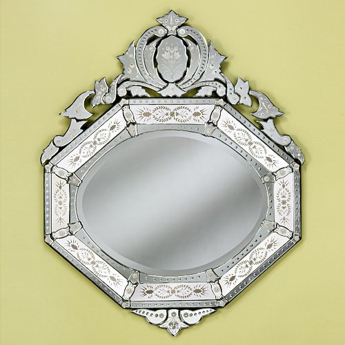 Rebecca Venetian Arch Wall Mirror - 41W x 51H in.