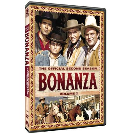 Bonanza  The Official Second Season  Vol  2  Full Frame