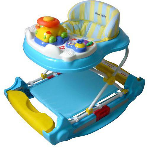 Dream on Me Evolution Entertainment Hub 2-in-1 Walker and Rocker