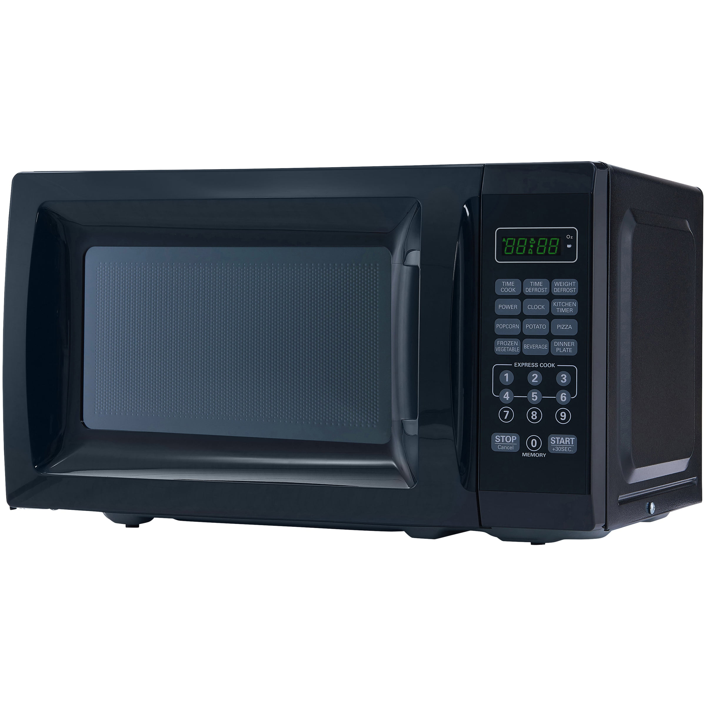 Ft 700w Black Microwave With 10 Levels