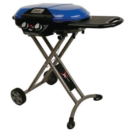 Coleman RoadTrip X-Cursion 2 Burner Propane Gas Portable Grill & Camping Stove