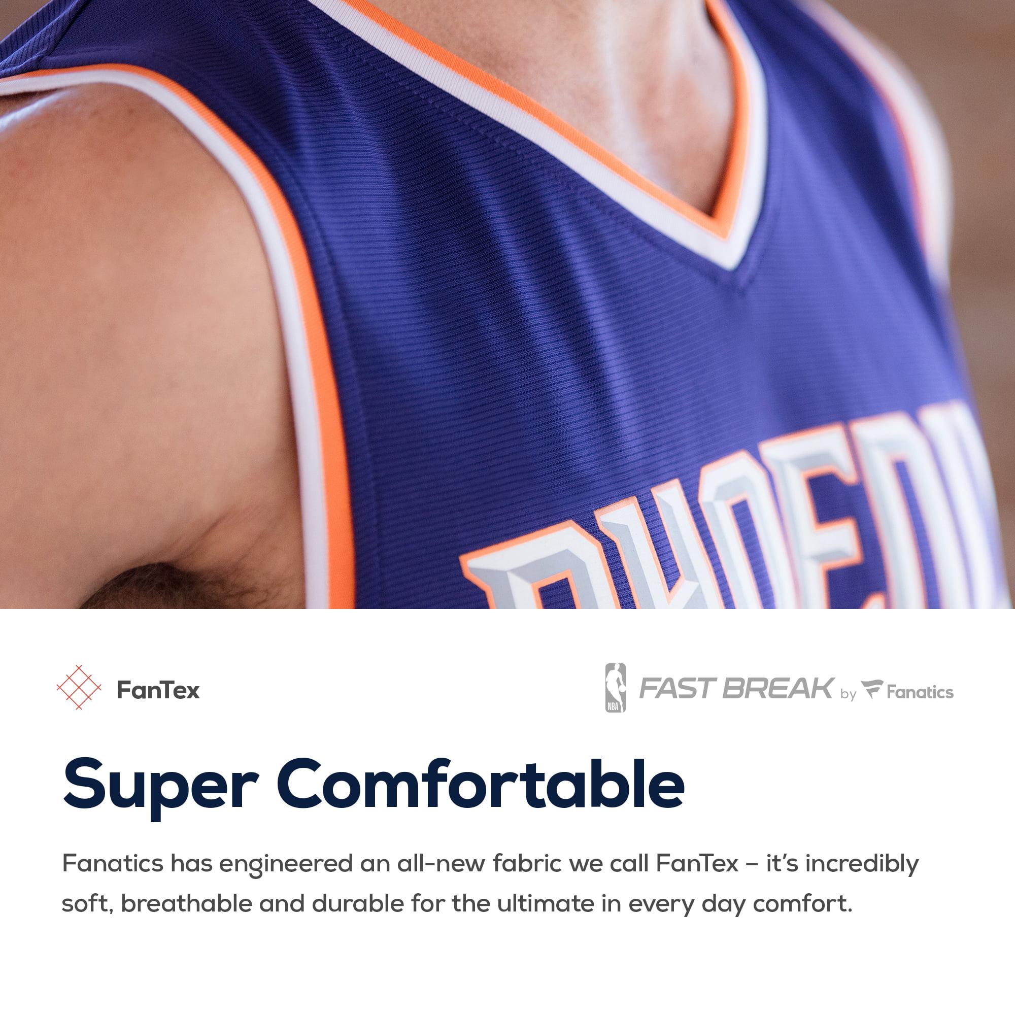 e648ec27e43 DeAndre Ayton Phoenix Suns Fanatics Branded Fast Break Jersey - Association  Edition - White - Walmart.com