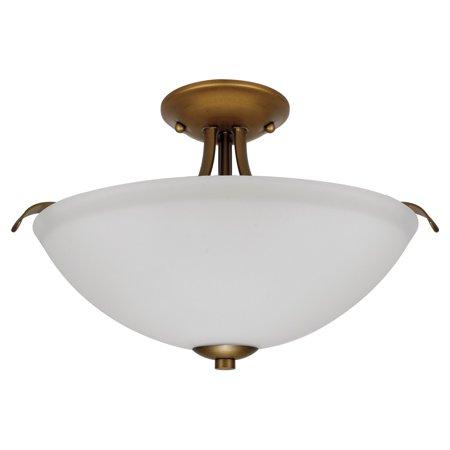 Nuvo Dillard 60 5 Semi Flush Mount Light