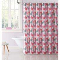 My World Llama Llama Printed Shower Curtain