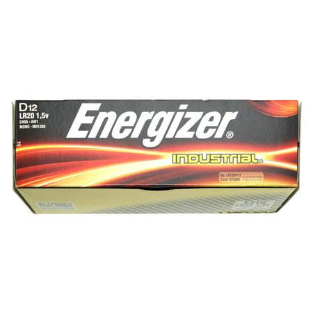 energizer 01138 d cell 1 5 volt industrial battery 12. Black Bedroom Furniture Sets. Home Design Ideas