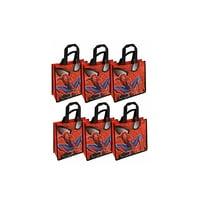 Reusable Marvel Spiderman Bag 6pcs - 10X10IN.