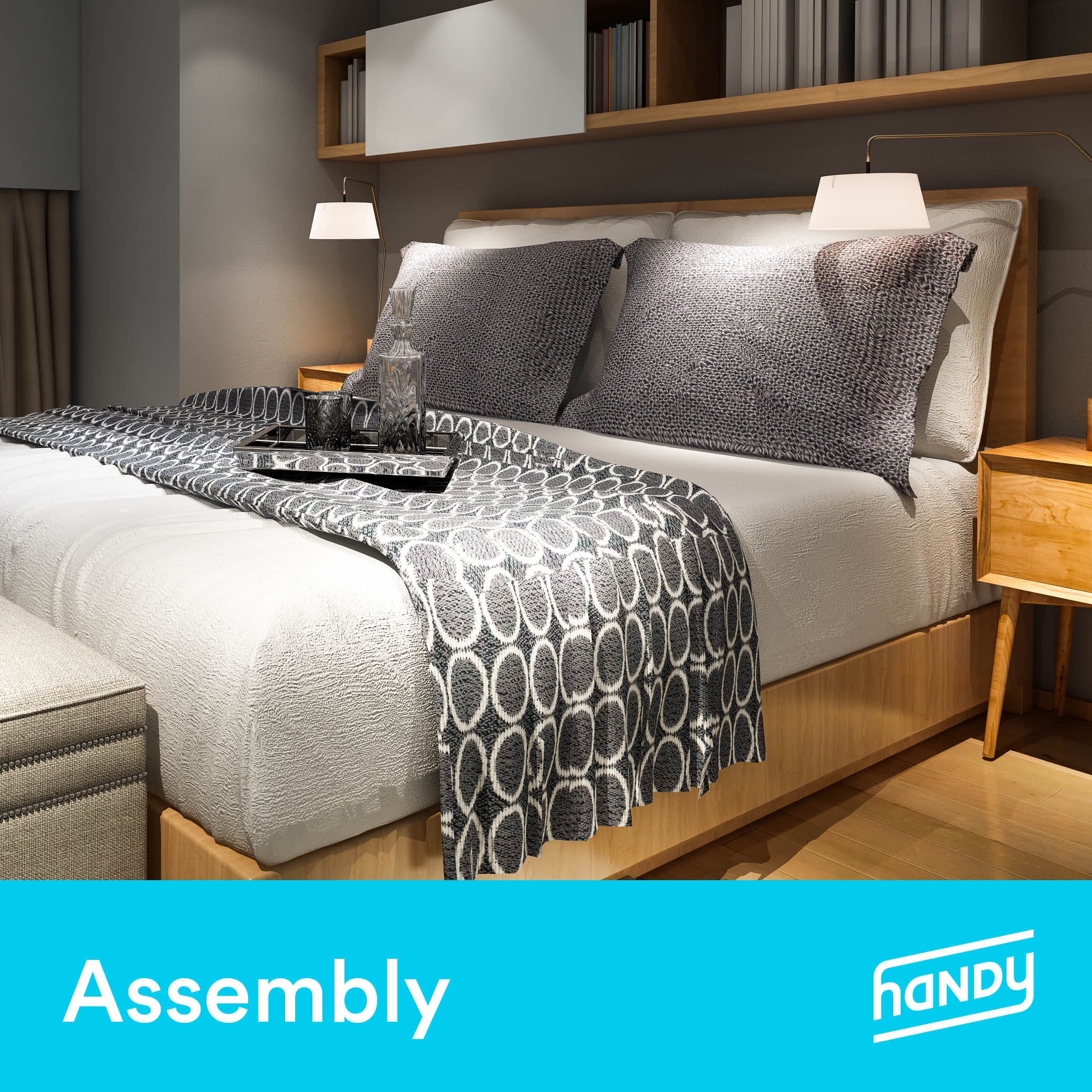 Bed Frame Assembly by Handy