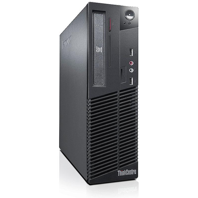 Refurbished Lenovo ThinkCentre M73 3.4GHz i3 4GB 500GB DRW Win 10 Pro 64 SFF Computer B