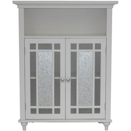 Elegant Home Fashions Deshler Double Door Floor Cabinet Walmart