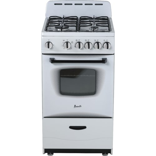 Avanti Products 20'' Free-standing Gas Range