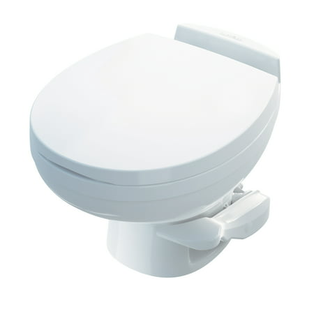 Profile Aqua Rack - Aqua Magic Residence RV Toilet / Low Profile / White - Thetford 42170