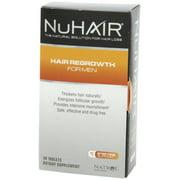 NuHair Hair Rejuvenation for Men Hair Regrowth Natrol Nu Hair 60 Tabs