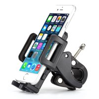 Bicycle Mount Bike Handlebar Holder Swivel Cradle L2A for Alcatel Cingular Flip 2, REVVL 2, Pop 3, Idol 5S 5 4S 4, Fierce 4 2, Evolve 2, 1x Evolve - iPhone XS Max XR X SE 8 PLUS 7 Plus 6S Plus