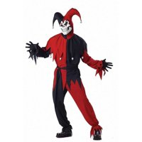 Adult Wicked Jester Costume California Costumes 746