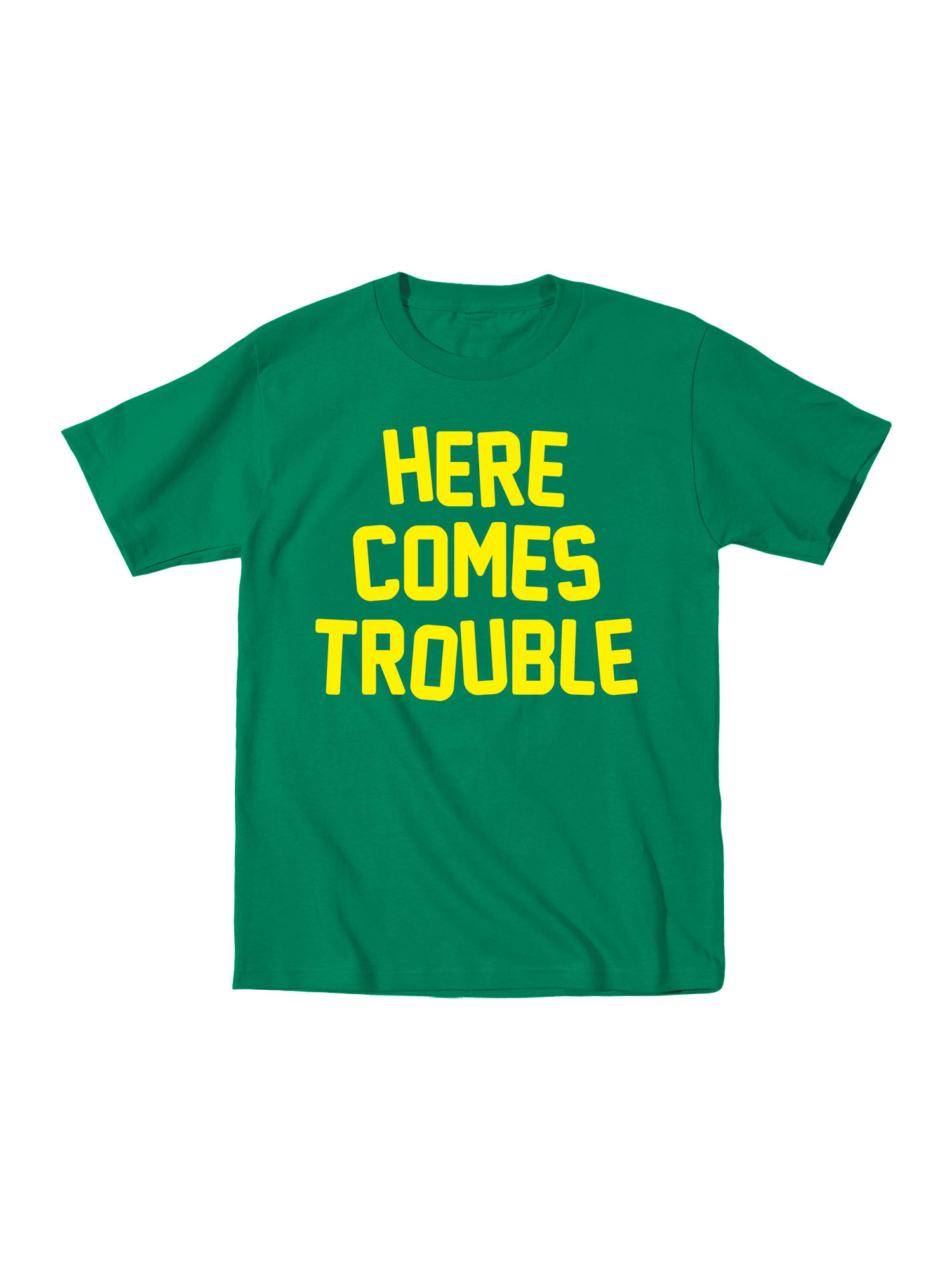 Here Comes Trouble Funny Ornery Kid-Toddler T-Shirt