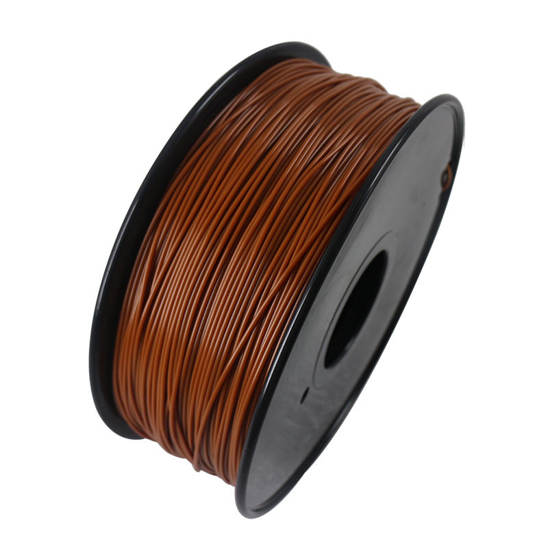 SHOP 3D Supplies ABS Brown 1.75mm 2.2 lb/1 kg Filament Printing Spool Supply for FlashForge Creator Series (PRO, X, Wood) & Fused Filament Fabrication (FFF) 3D Printer, Reprap, Mendel, Prusa, Makerbot