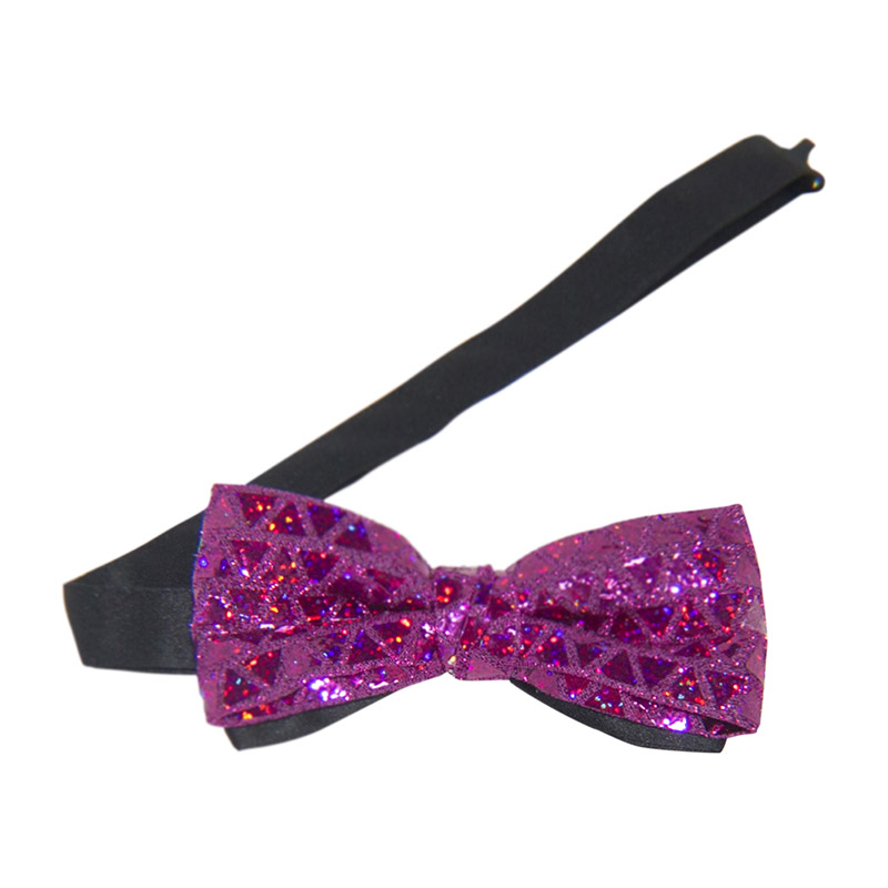 Sequin Banded Bow Tie