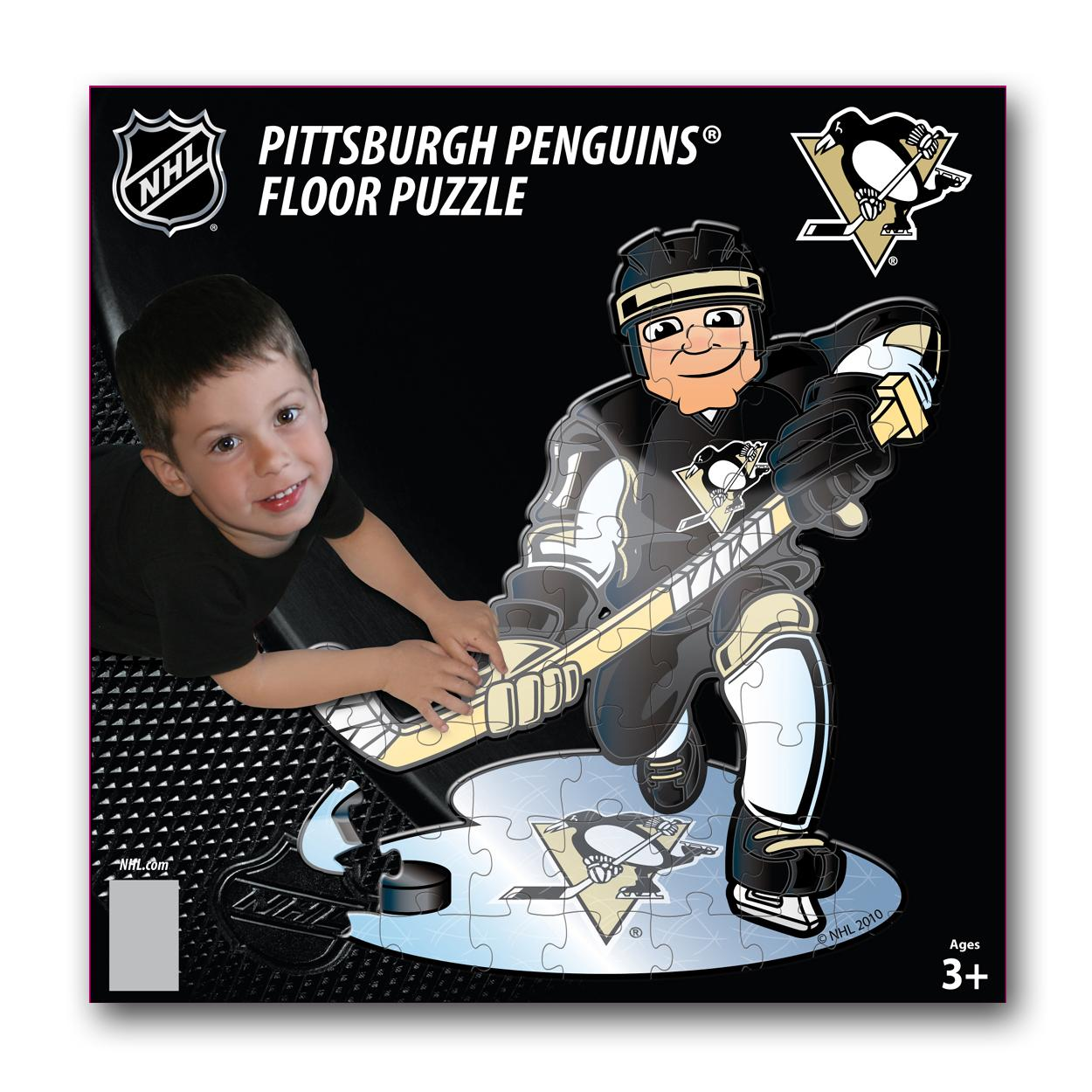 Ppw Floor Puzzles Pittsburgh Penguins Pittsburgh Penguins PPWHKYPITP by