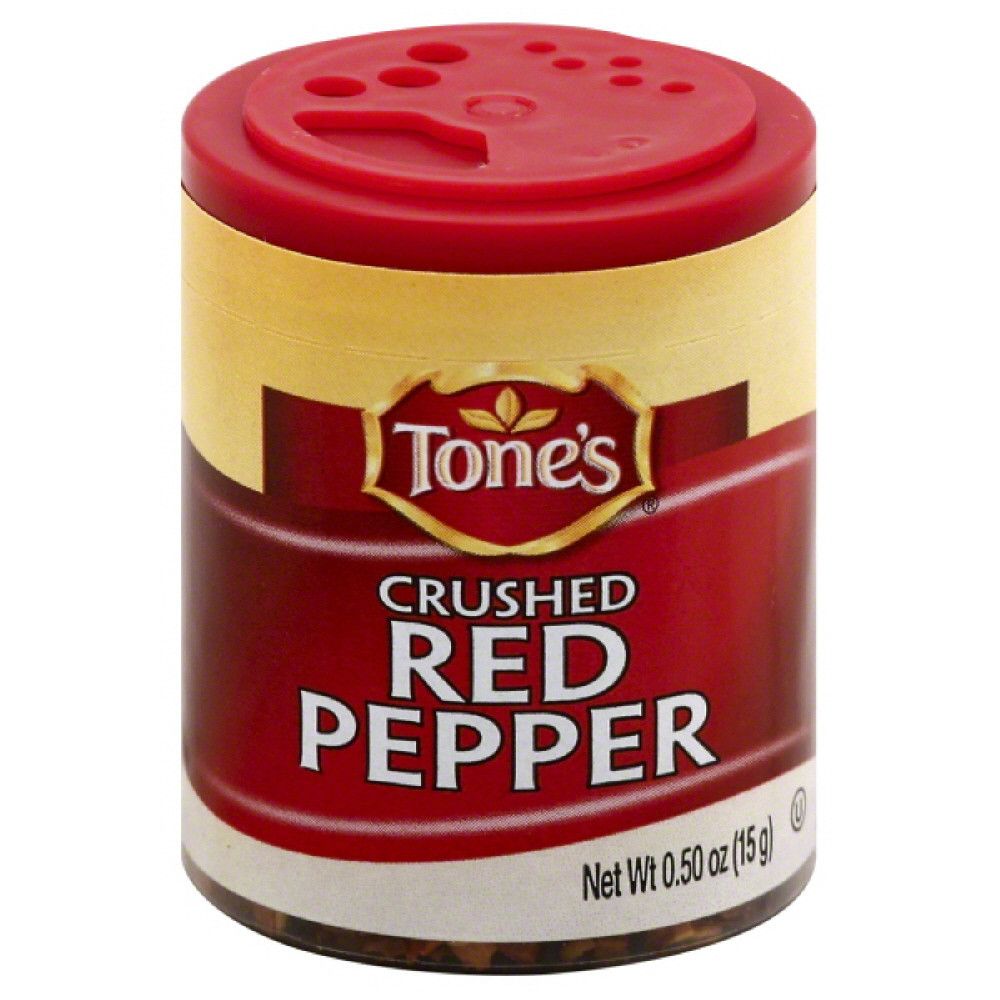 Tones Red Pepper, Crushed