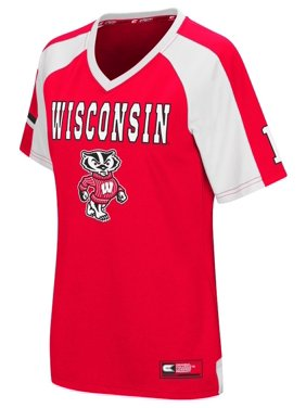 "Wisconsin Badgers Women's NCAA ""Torch"" Fashion Football Jersey"