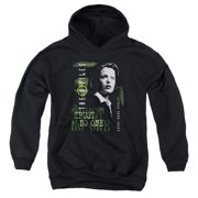 X Files Scully Big Boys Pullover Hoodie