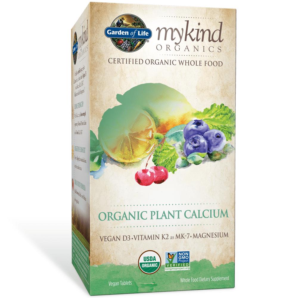 Garden of Life Organic Plant Calcium Tablets, 180 Ct