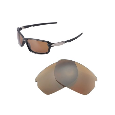 dbb43070997 Walleva - Walleva Brown Polarized Replacement Lenses for Oakley Carbon  Shift Sunglasses - Walmart.com