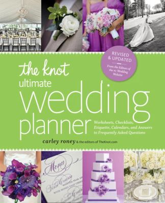 The Knot Ultimate Wedding Planner Worksheets Checklists