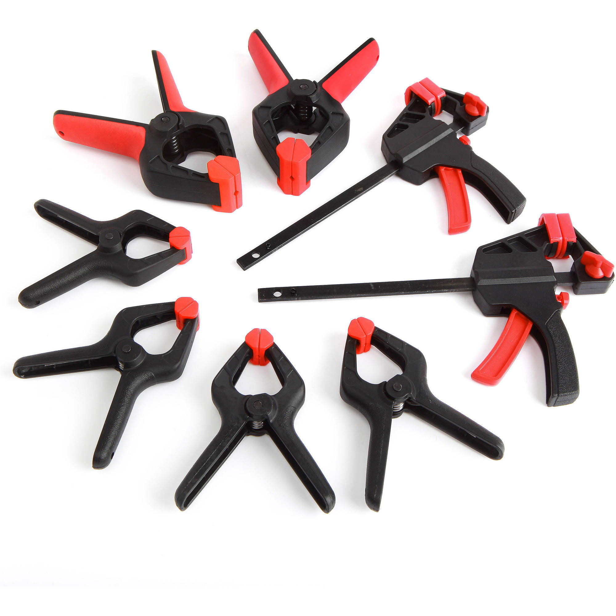 6 Pieces Mini Spring Clamps