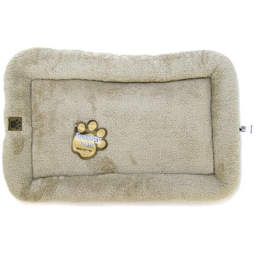 SnooZZy Bumper Crate Bed - Natural Long Terry