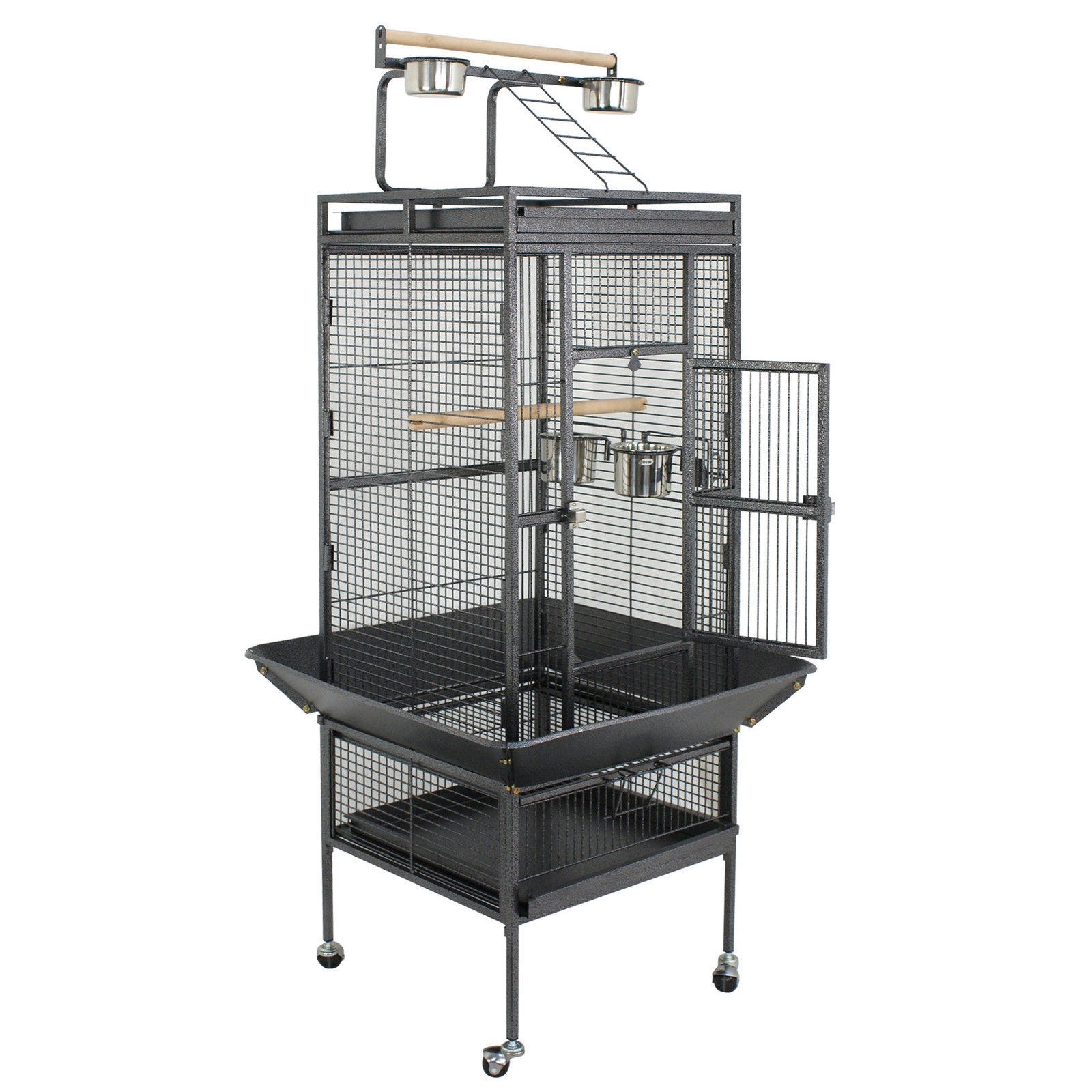 "Zeny 61"" Large Play Top Bird Cage for Parrot, Finch, Macaw & Cockatoo"